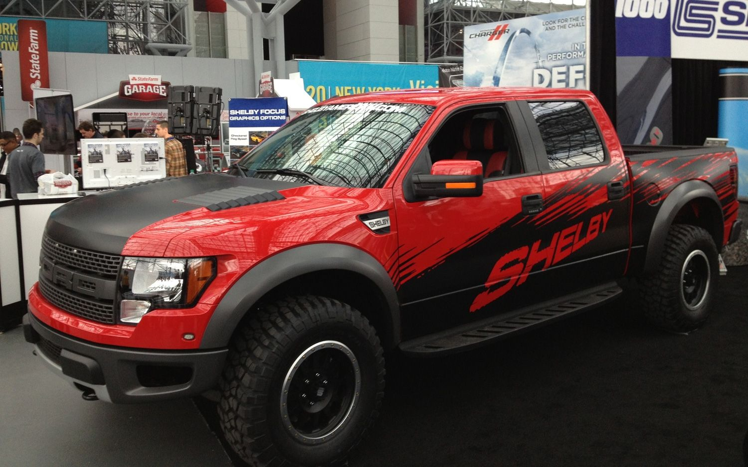 Shelby unveils supercharged ford svt raptor at the new york auto show