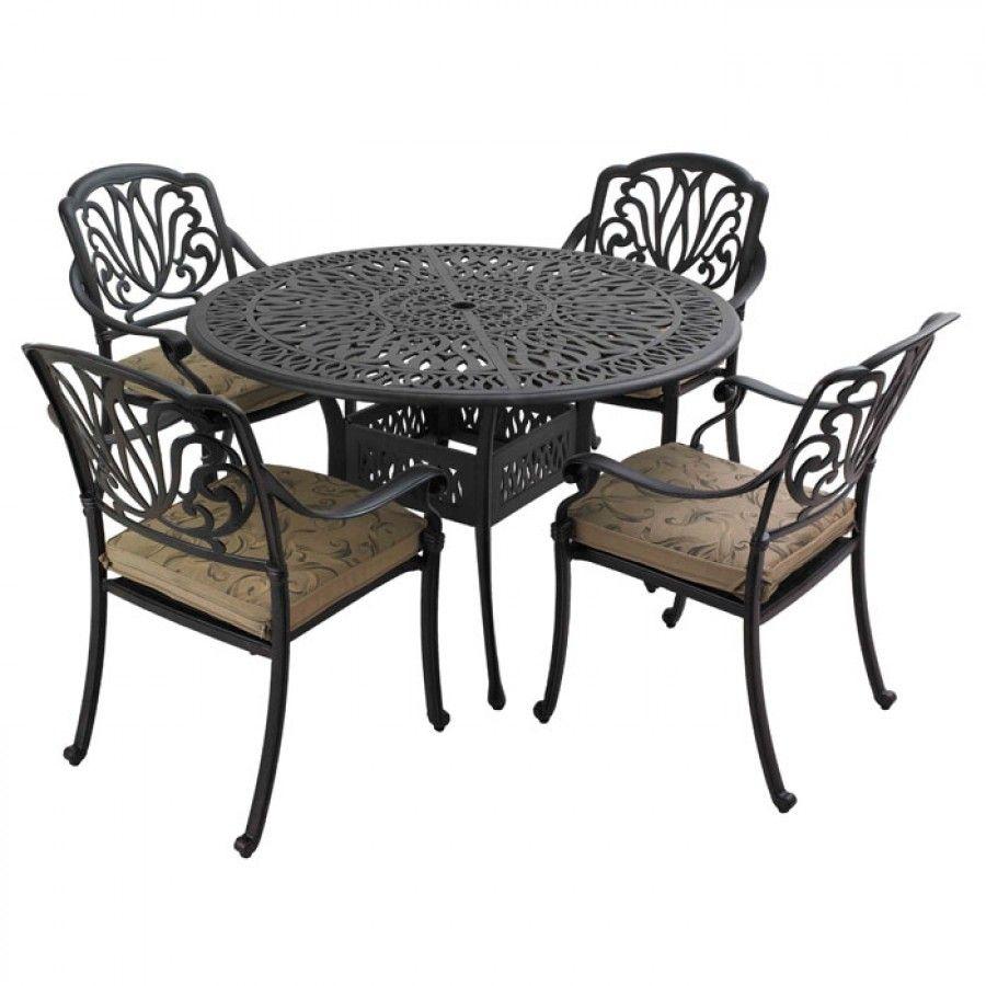 Hartman Amalfi 4 Seater Garden Furniture Set | Charlies Direct ...