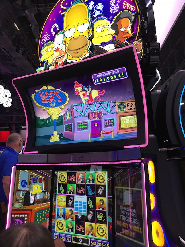 Newest slot machines in vegas atlantic city blackjack odds