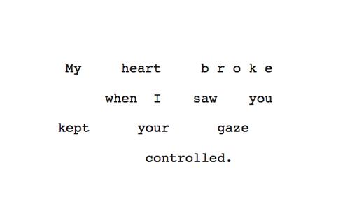 It's true I crave you.