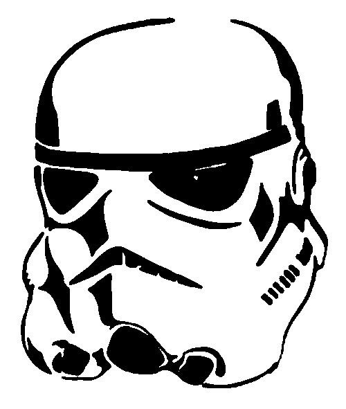 photograph relating to Stormtrooper Stencil Printable identified as Stormtrooper Helmet Stencils Holdens space Star wars