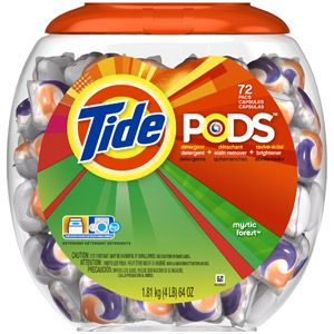Tide Pods Or Any Other Brand Are A Lighter Alternative To