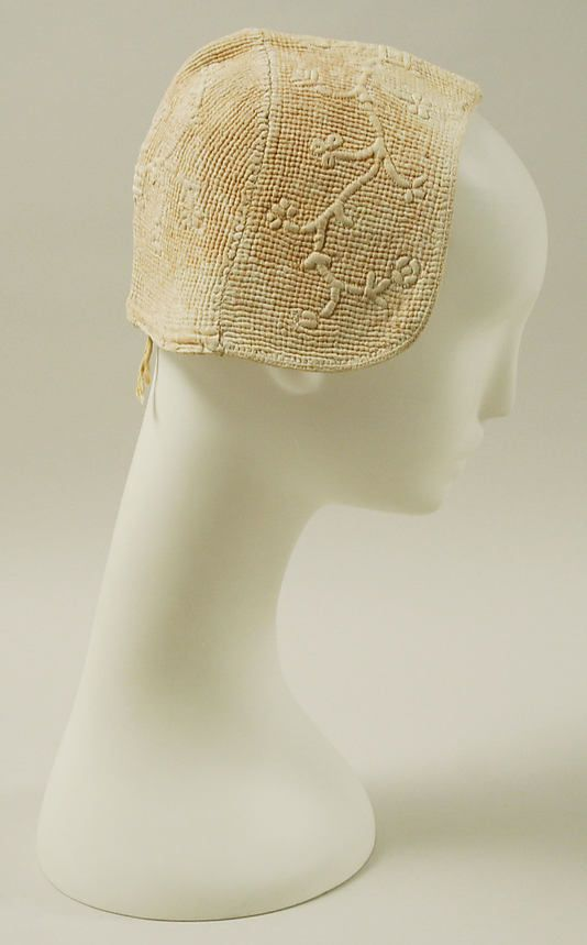 Cap  Date:    18th century  Culture:    European  Medium:    cotton