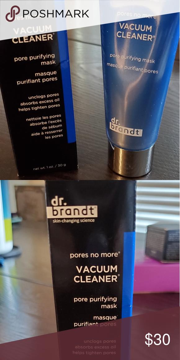 Dr Brandt Pores No More Vacuum Cleaner Mask Clean Pores Pore Vacuum Cleaner