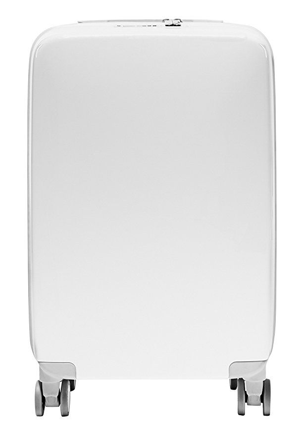 0736deadc Raden A22 Carry-On Smart Luggage, White Gloss | Shopping List | Best ...