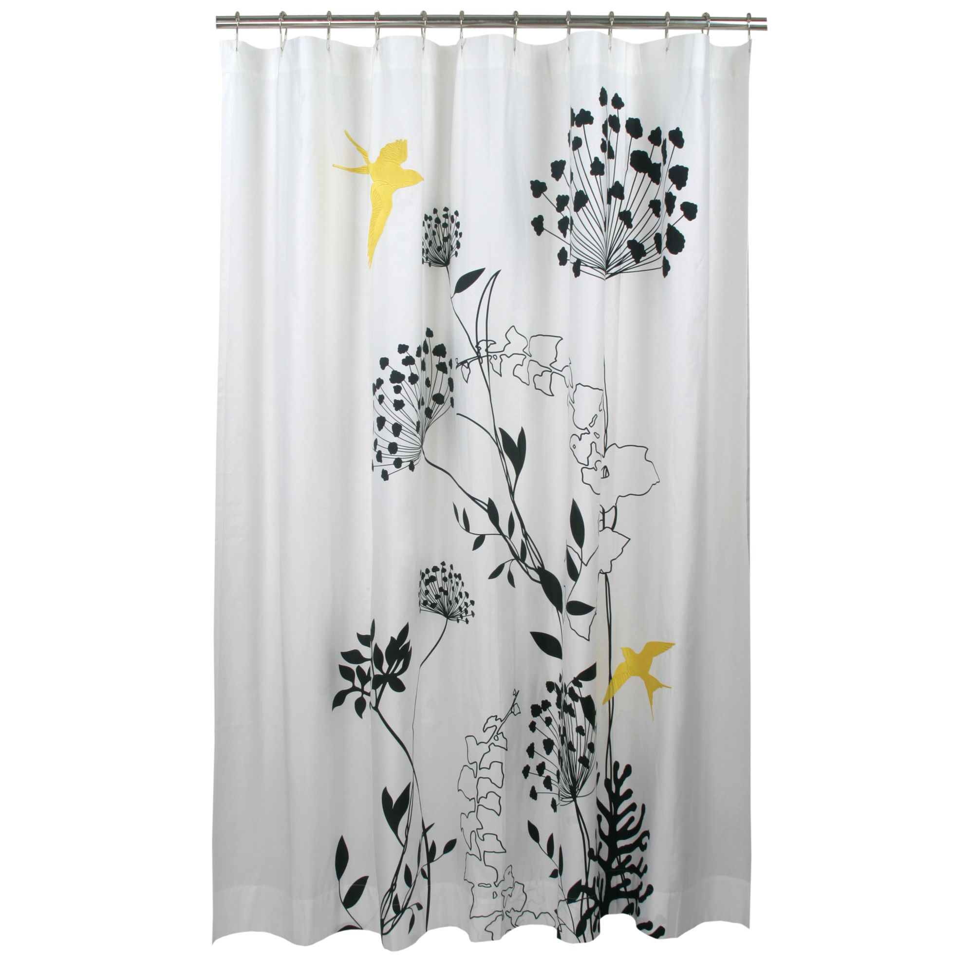 Blissliving Home Anis Yellow Shower Curtain