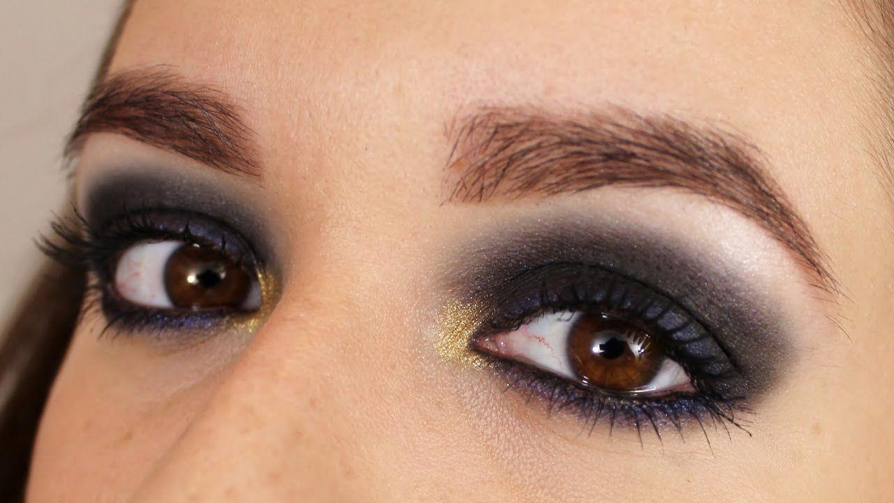 Resultado de imagen para como hacer ojos ahumados paso a - Como pintarse los ojos de negro ...