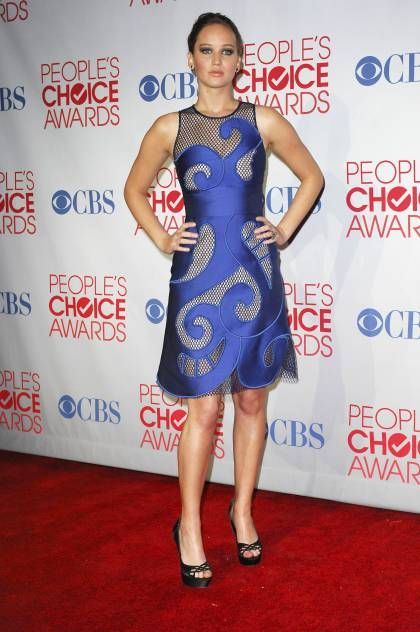 Red Carpet Highlights Best/Worst From The 2012 People's Choice Awards