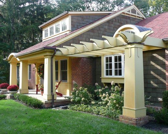 Farmhouse Porch Curtains