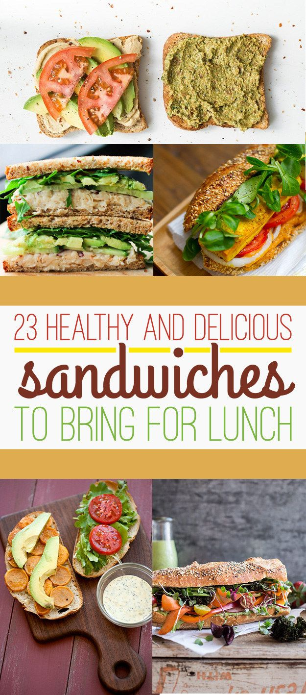 23 healthy lunch sandwiches that will make you a champion. Black Bedroom Furniture Sets. Home Design Ideas