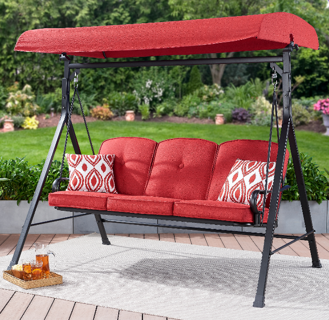 porch swing with canopy patio swing