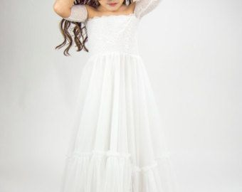Taupe und Pinky Beige Empire Taille Baby Tüll Kleid mit