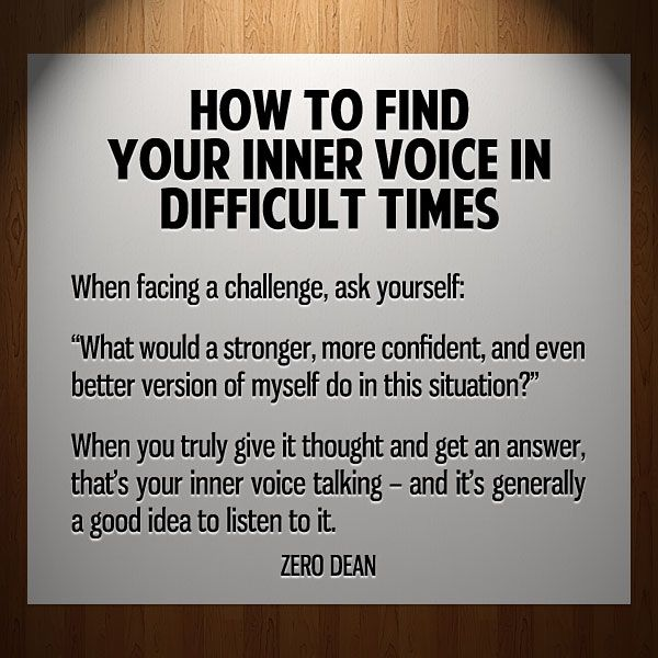finding the inner voice Find your inner voice: using instinct and intuition through the body-mind connection [karol ward] on amazoncom free shipping on qualifying offers provides a.