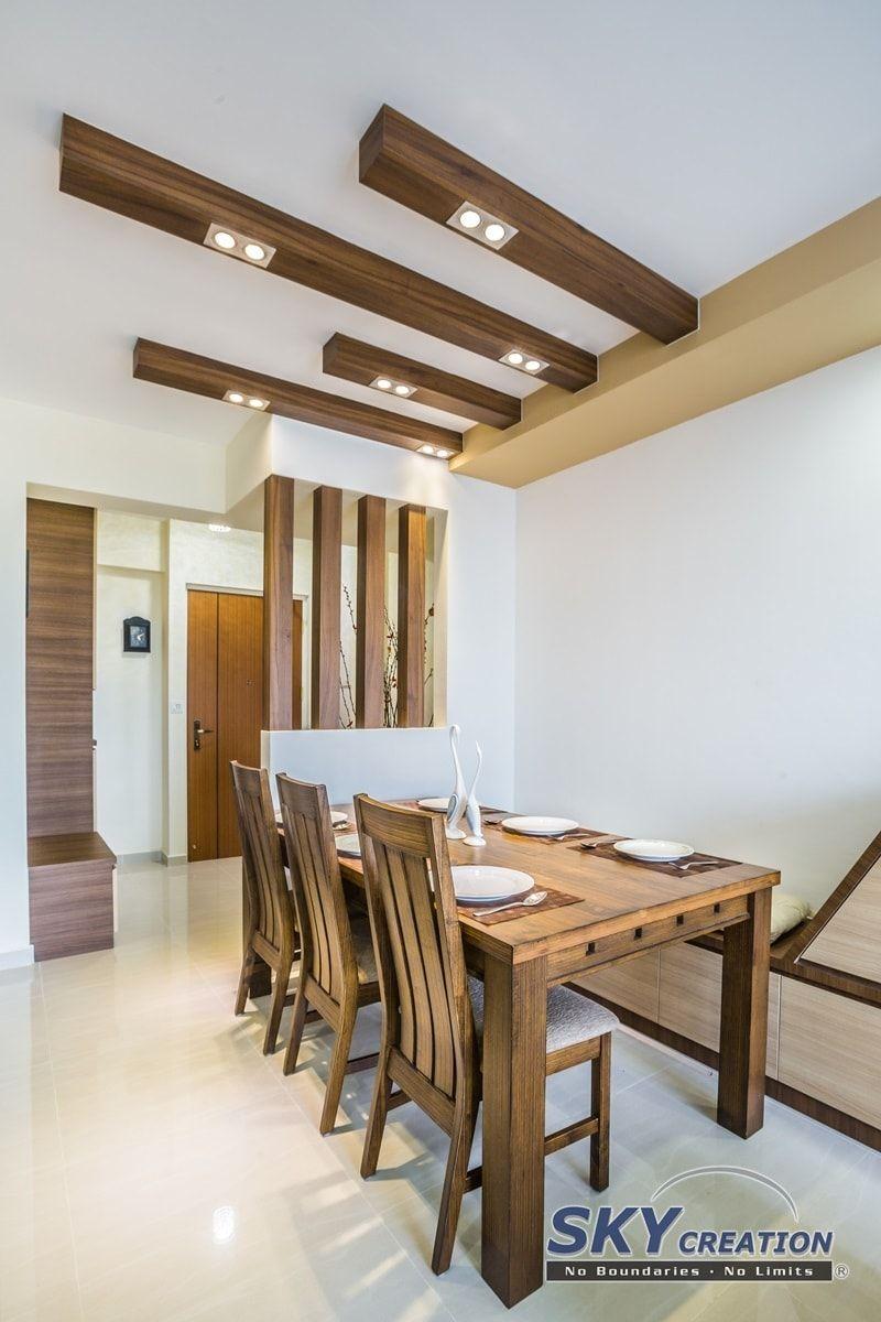 Pasir Ris Resort Style Hdb Interior Design Dining Area