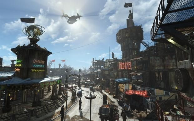 Blade Runner meets Fallout 4 in this amazing settlement creation 10 | TweakTown.com