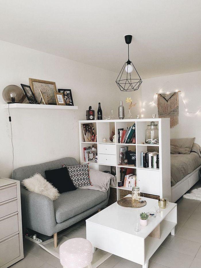 1001 kleine Wohnzimmerideen für Studio Apartments – Appartements Idee... in 2020   Wohnung ...