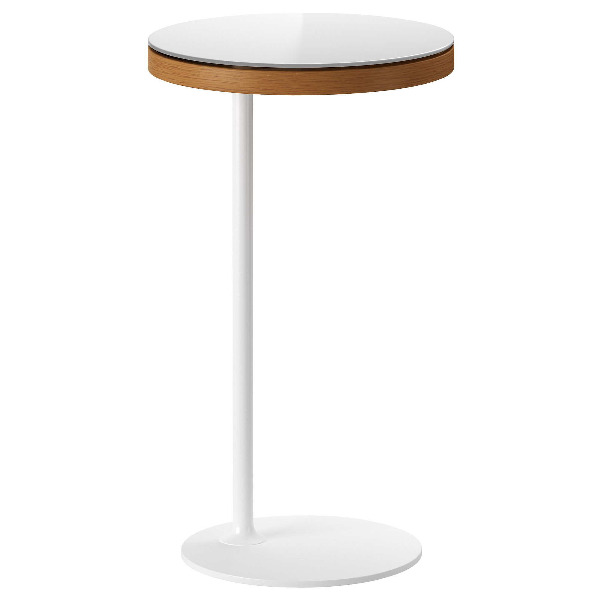 Ikea Stockholm Side Table White Golden Brown Ikea