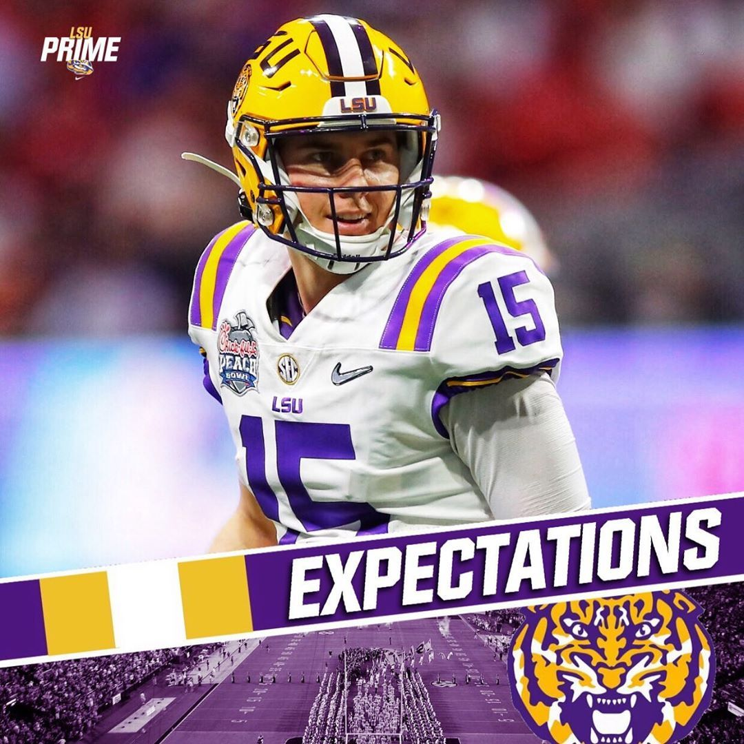 Lsu News 5 0k On Instagram According To The Guys At Saturdaydownsouth Here Are Some Realistic Expectations For Qb In 2020 Lsu Lsu Tigers Football Helmets