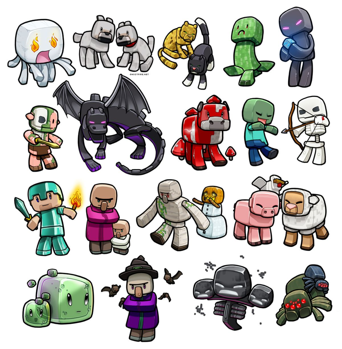 Minecraft Art Drawings Now
