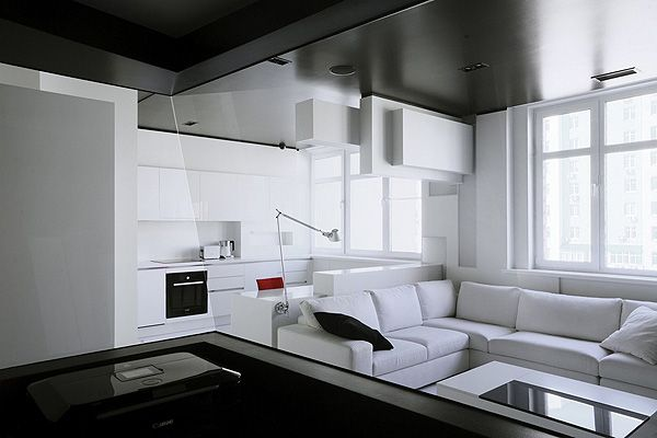 An apartment in Russia inspired by Russian 20th Century avantgarde