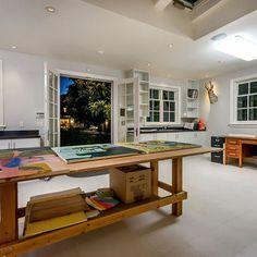 atherton art home contemporary home office san francisco mark pinkerton photography - Art Studio Design Ideas