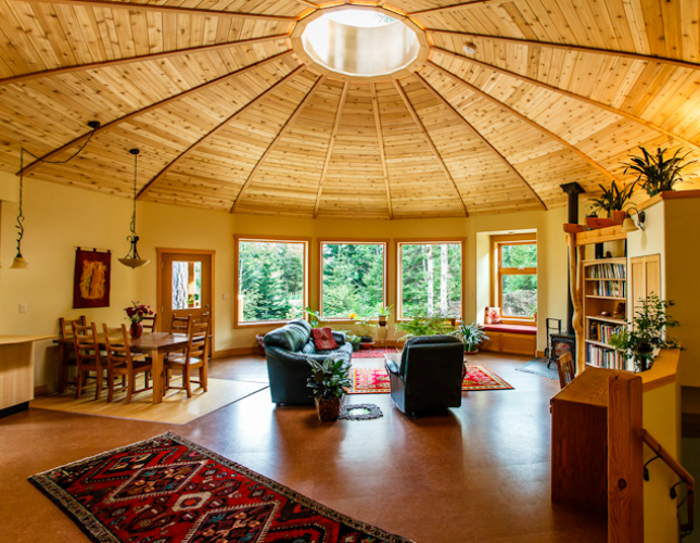 These Yurts Are Super Luxurious Round House Yurt Home Yurt Living Think you know everything about yurt living? round house yurt home yurt living