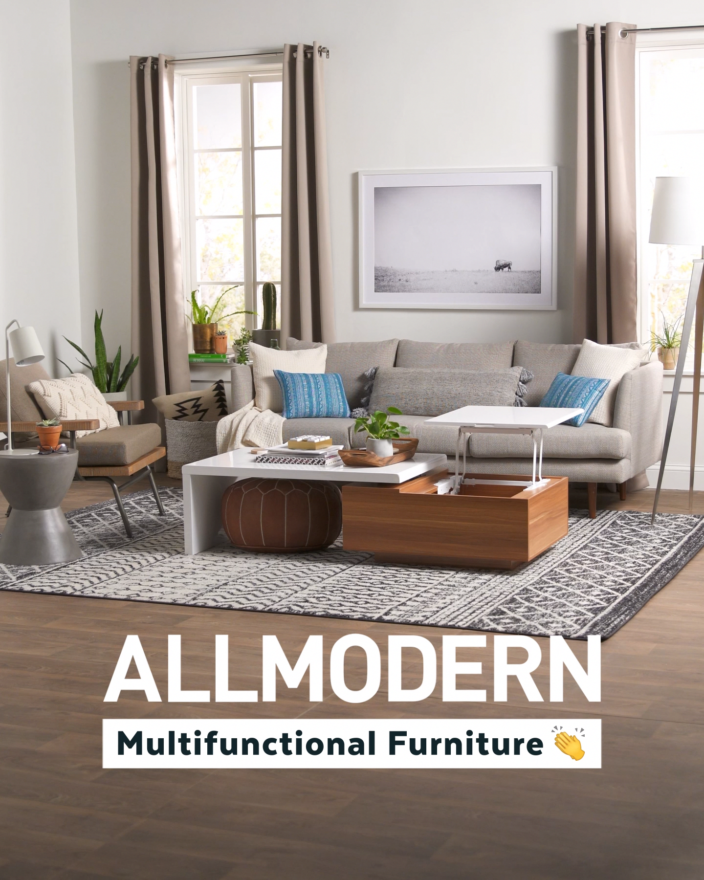 Shop Allmodern For Up To 65 Off Modern Furniture And Free Shipping Allmodern Has The 2 In 1 Furniture You Need Home Living Room Living Room Designs Furniture