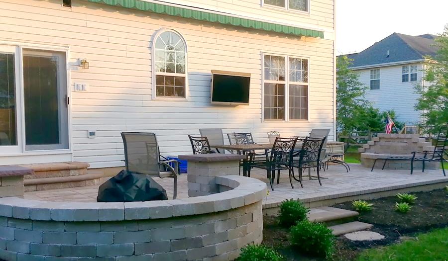 Outdoor Tv Pictures Skyvue Outdoor Tvs Backyard Remodel Outdoor Tv Outdoor