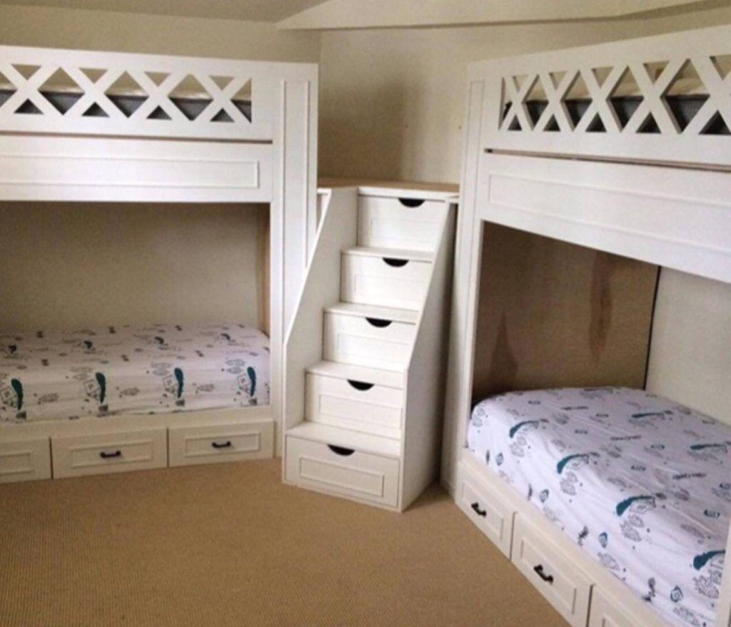 21 Space Saving Corner Bunk Bed Ideas Bunk Bed Rooms Cool Bunk