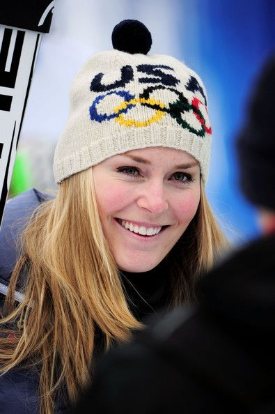 c173b7d4e44 Someone needs to knit and or find me this Olympic ski hat Lindsey Vonn owns.