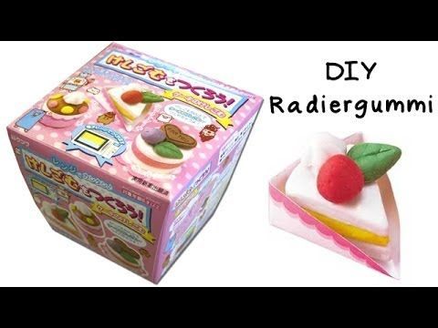 diy radiergummi selber machen kuchen diy und. Black Bedroom Furniture Sets. Home Design Ideas