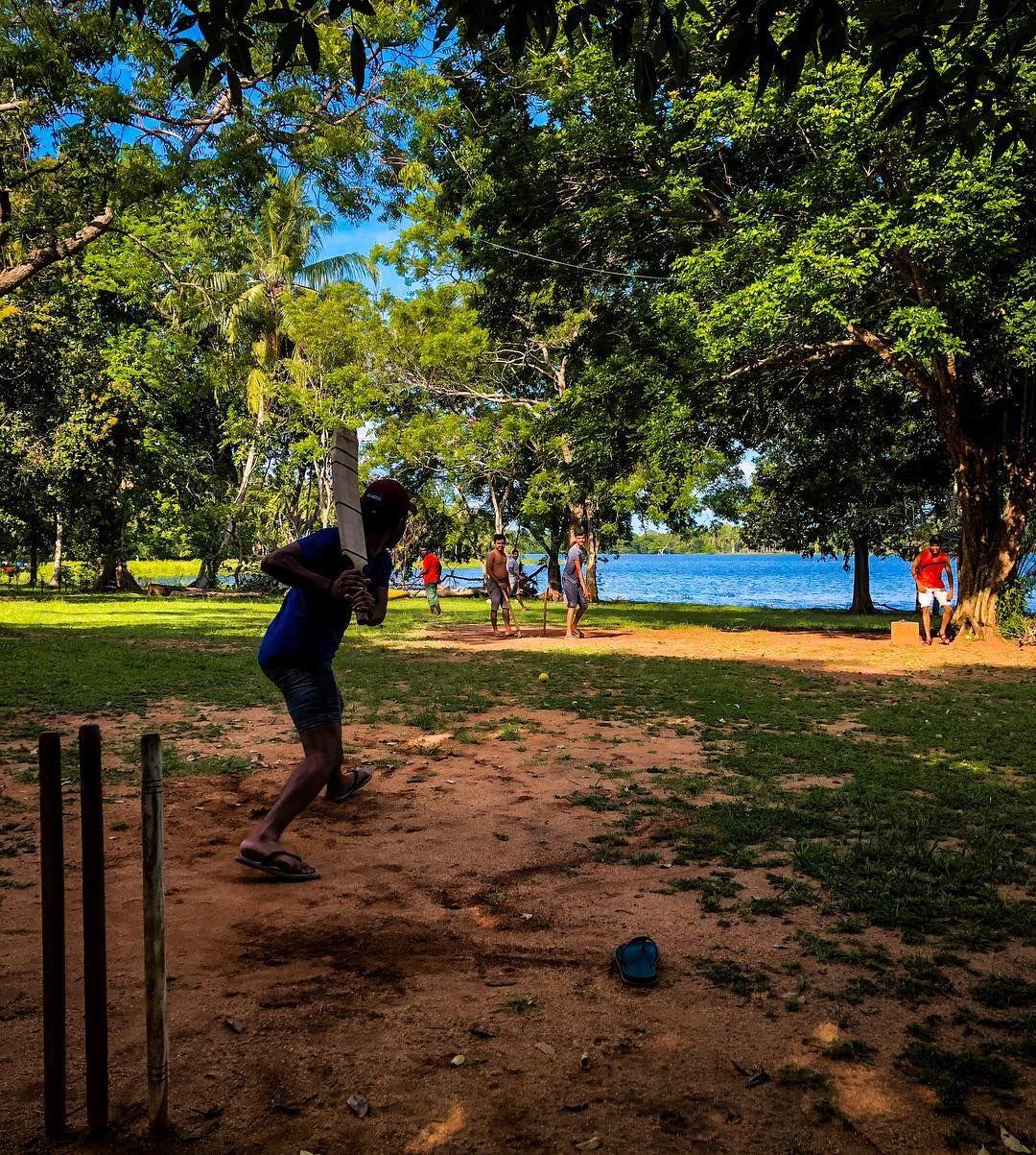 Cricket by the lake srilankan srilanka lake lakeside