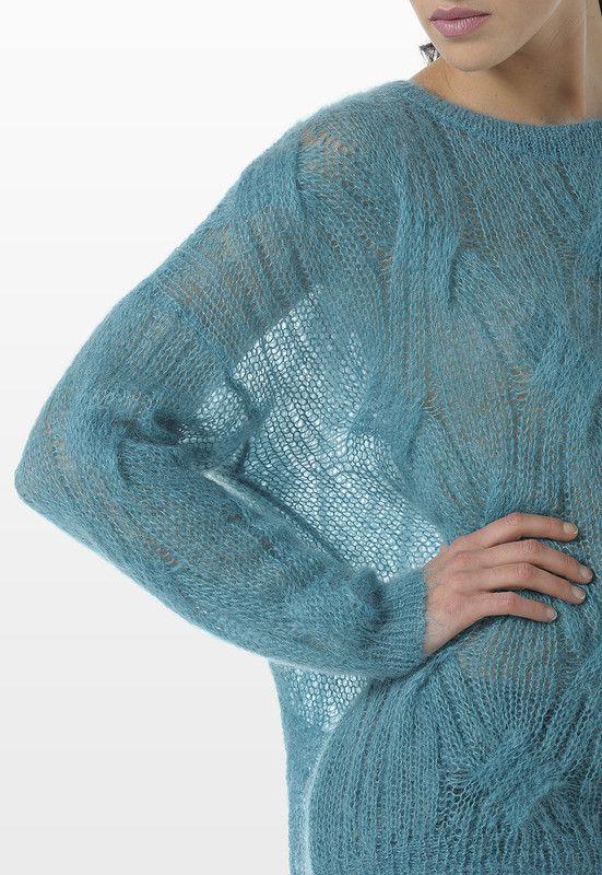 Mohair of angora model | жакеты | Pinterest | Tejido, Moda para ...