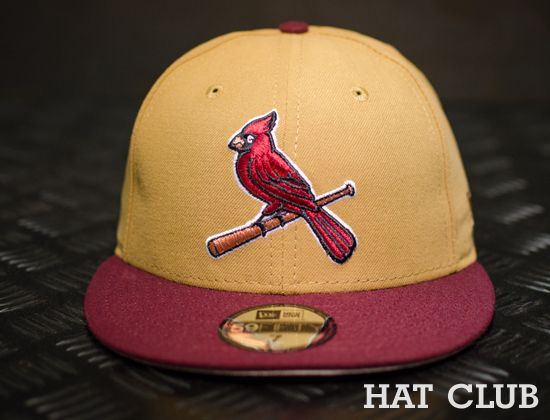 d2fb7ba1e4e St. Louis Cardinals Custom 59Fifty Fitted Cap   HAT CLUB