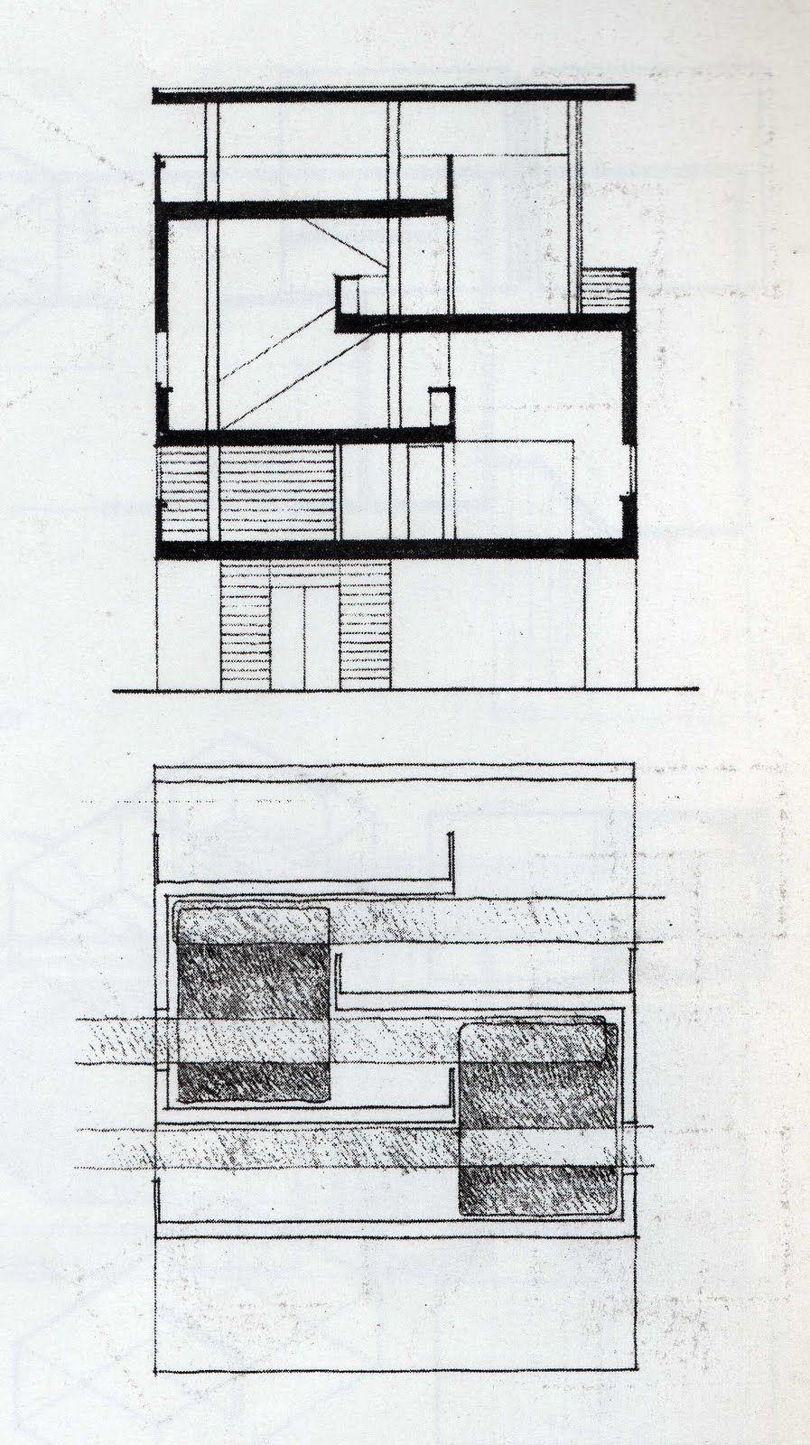 Le corbusier villa baizeau cartago modern architecture amazing also rh pinterest