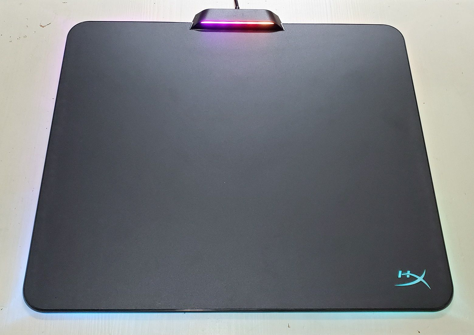 Hyperx fury ultra rgb mouse pad unboxing and review in