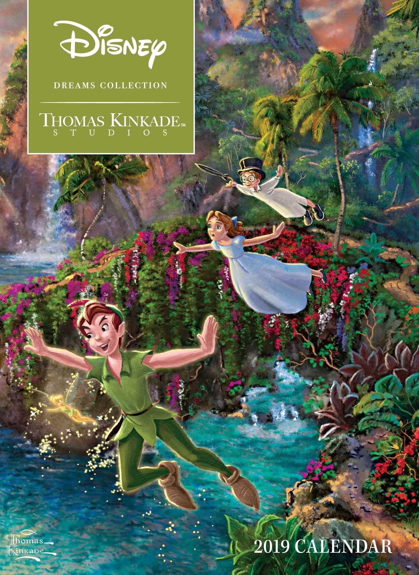 Thomas Kinkade Studios Disney Dreams Collection 2019