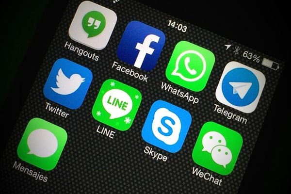mobile messagin apps Messaging app, Tracking app, Chat app
