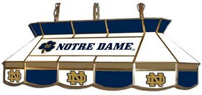 Exceptionnel University Of Notre Dame Pool Table Light (