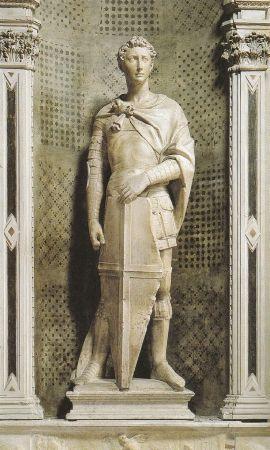Donatello,San Giorgio,1415-1417,Firenze Orsanmichele