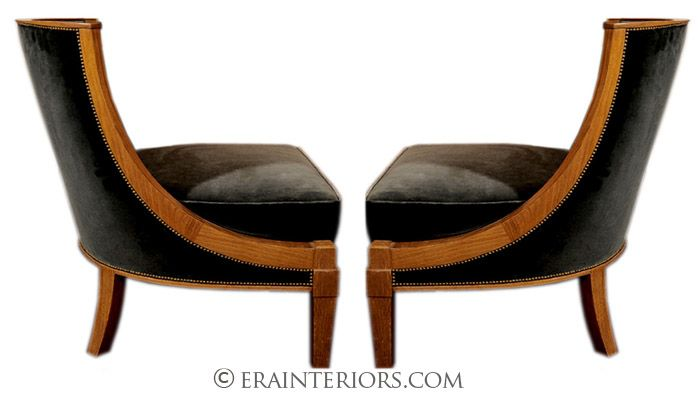 Chairs Art Deco Chair Hallway Designs Slipper Lounge Seating