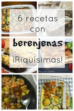 6 recetas con berenjenas ¡Riquísimas!   Cuuking! Recetas de cocina