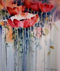 FR1604 - Painting a Big Brush Watercolor Floral