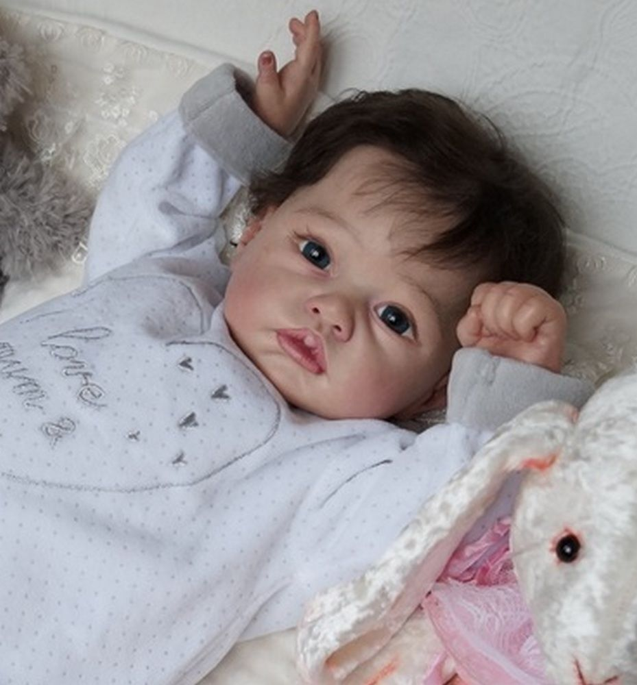 Reborn baby doll toddler Darin from rare limited kit Claire,skulpt Romie Strydom