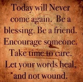 Take time to care