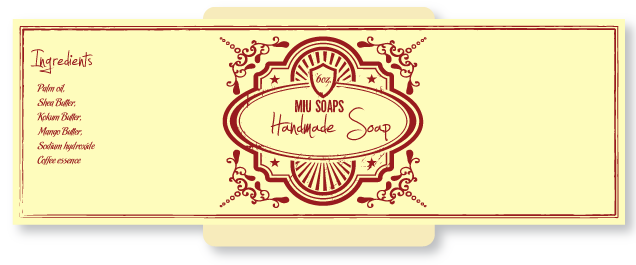 Retro soap cigar band template | Soap Cigar Bands | Pinterest ...