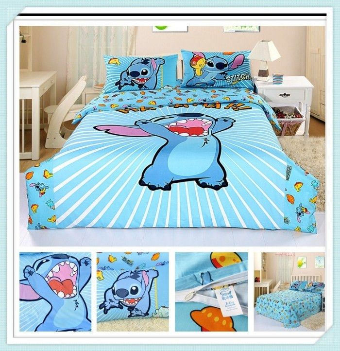 Good Decorate Your Room With These Lilo U0026 Stitch Bedding Sets   Perfect For Anyu2026