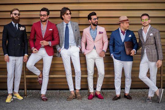 SQUAD OF GENTLEMEN Men style tips, Summer suits men