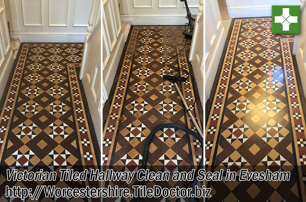 It S Not Just Major Restoration Work We Do At Tile Doctor Sometimes A Simple Clean And Seal Is All That Is Required And Tha Victorian Tiles Evesham Clean Tile