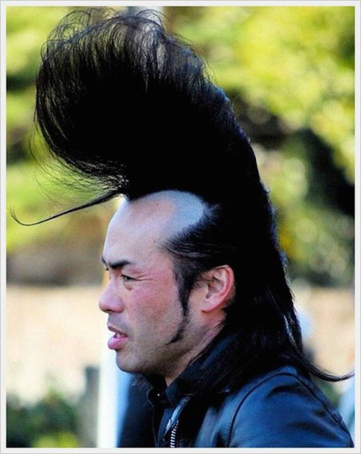 Coupe homme horrible